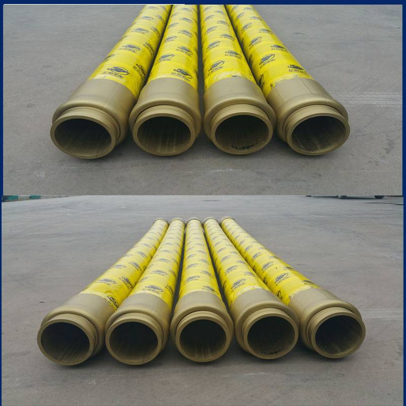 concrete pump rubber end delivery hose