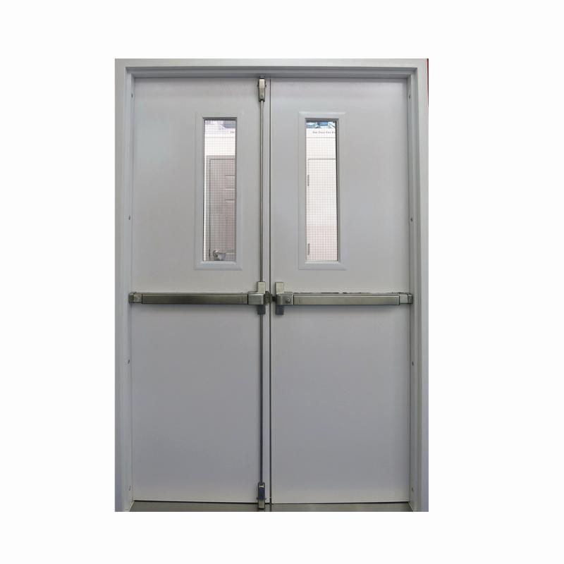 UL WHI FM swing type galvanized steel fire door