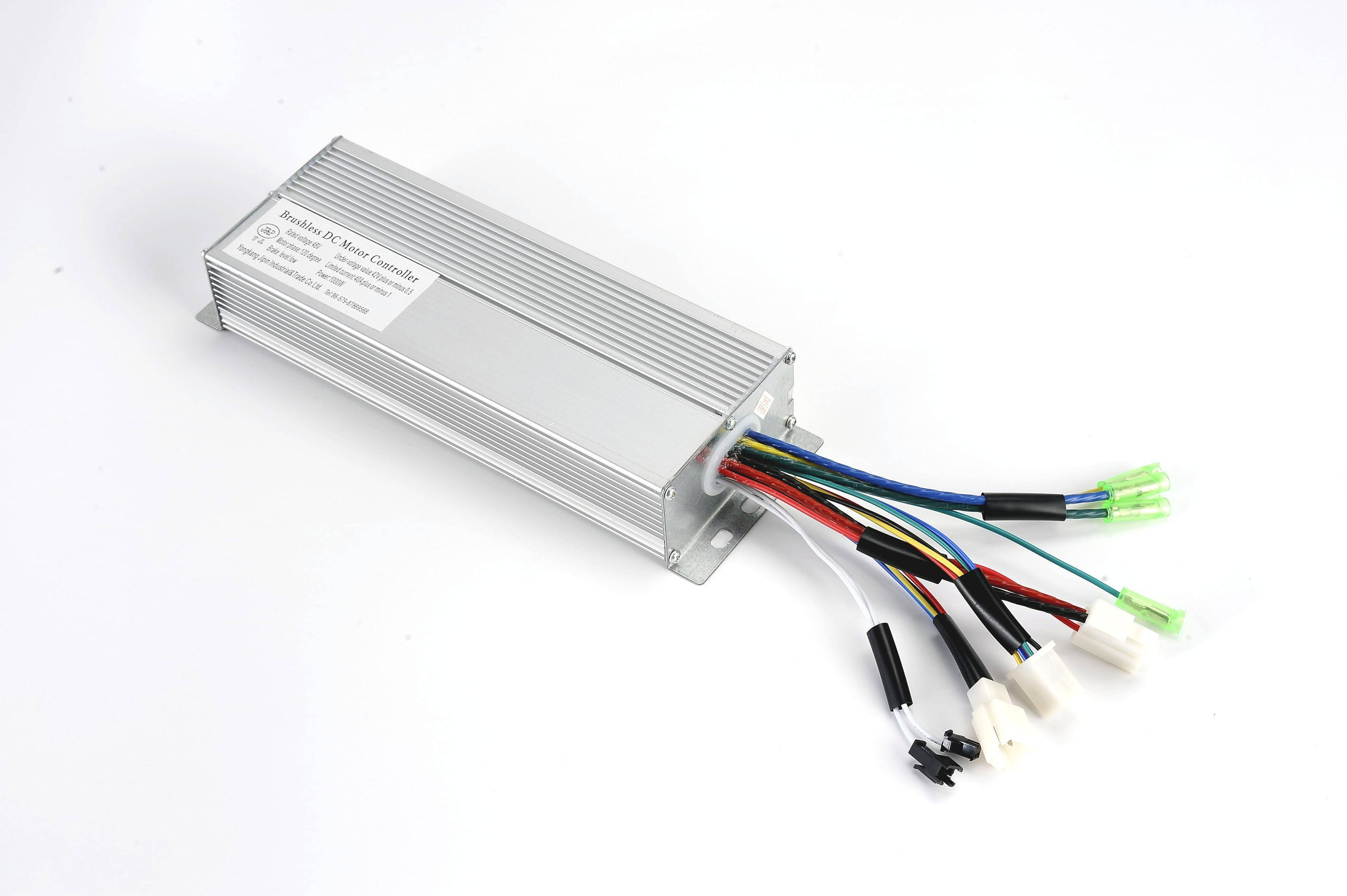 electric bike brushless hub motor controller  36v 48v 50w-750w