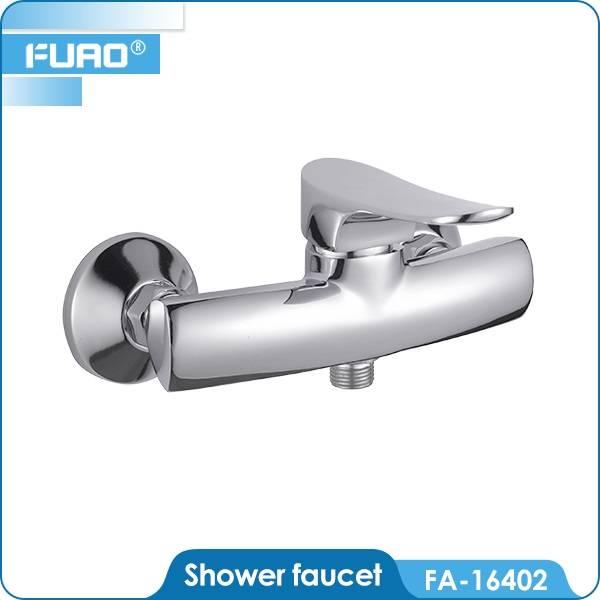 Brass chrome bath shower faucet