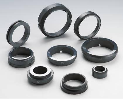 Sintering silicon carbide seals