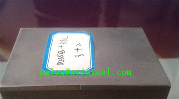 Clad metal Q235B+S304