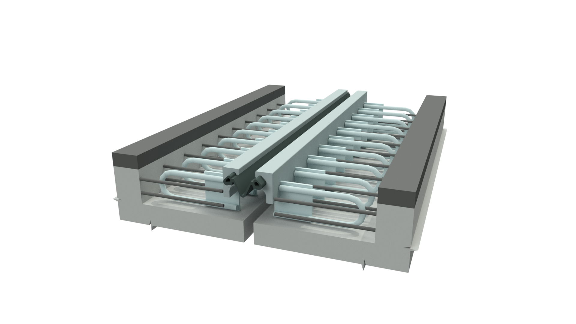 Vietnam Reinforced and Durable Strip Seal Expansion Joint Movement Joint for Construction