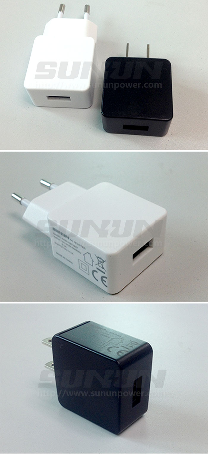 5V1A GS USB Charger with safety approval