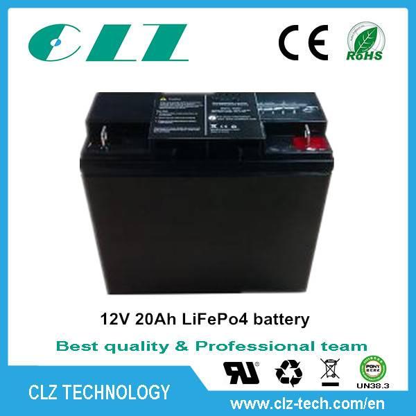 Long life OEM 12v 7.5-200ah solar street light battery