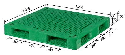 Plastic Pallet For Automated Warehouse
