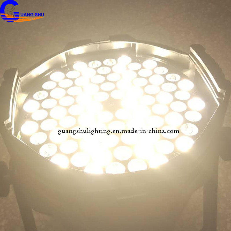 High Brightness DMX Stage RGBWA 84pcs3W LED Par Can Light