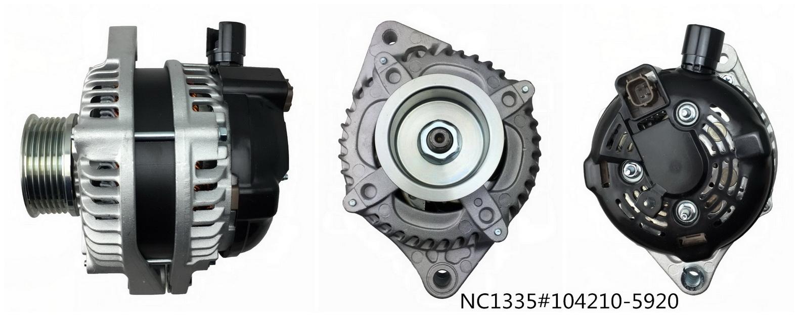 Car Alternator NC1335 (12V 130A,104210-5920)