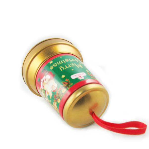 christmas music tin boxes, bell tin boxes