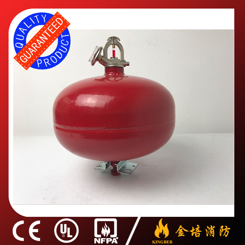 6KG Cold-Roll Steel ABC40 Dry Powder Automatic Fire Extinguisher for Warehouse Using with ISO