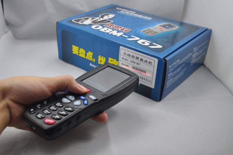 Wireless Handheld Barcode Data Collector (OBM-767)