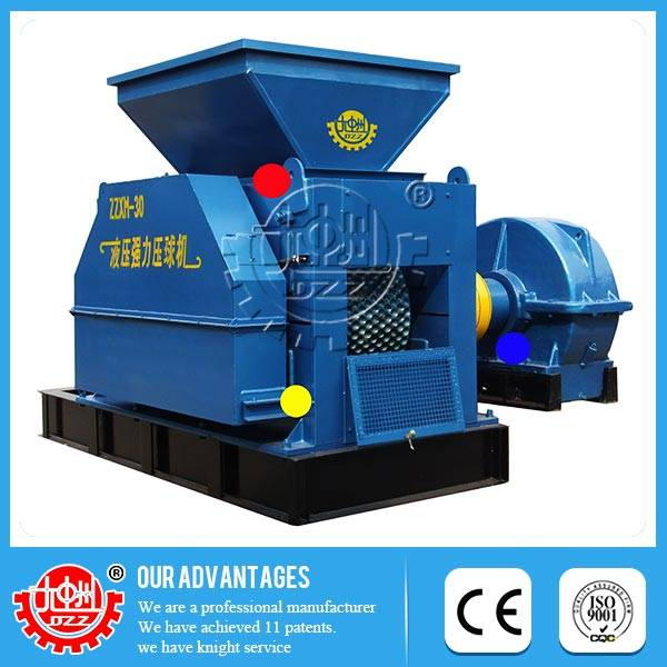 Easy maintaince widely usage charcoal dust ball making machine