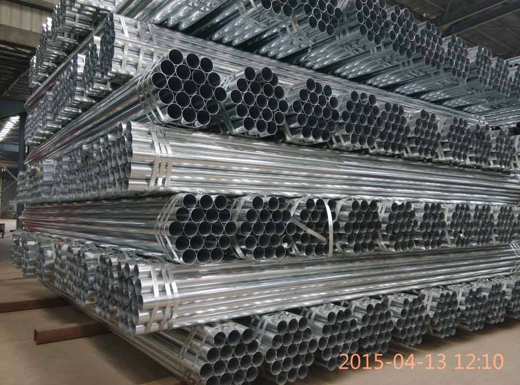 Pre-zinc coated steel pipe supplier in China Dongpengboda