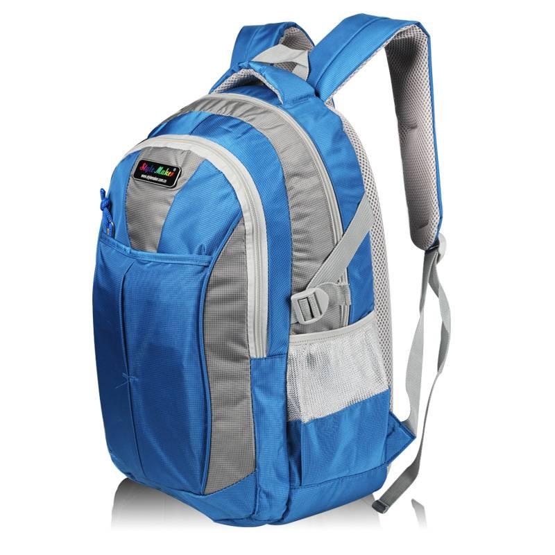 2-Tones Nylon Computer Backpack GF-079