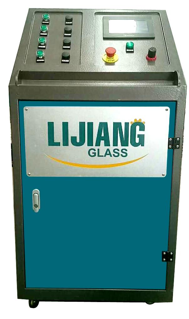 New insulating glass argon gas filling machine