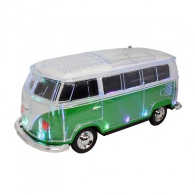 Bus Design Car Bluetooth Speaker WS-267BT, Supports Bluetooth/TF/USB/FM Radio/Handsfree/LED Light
