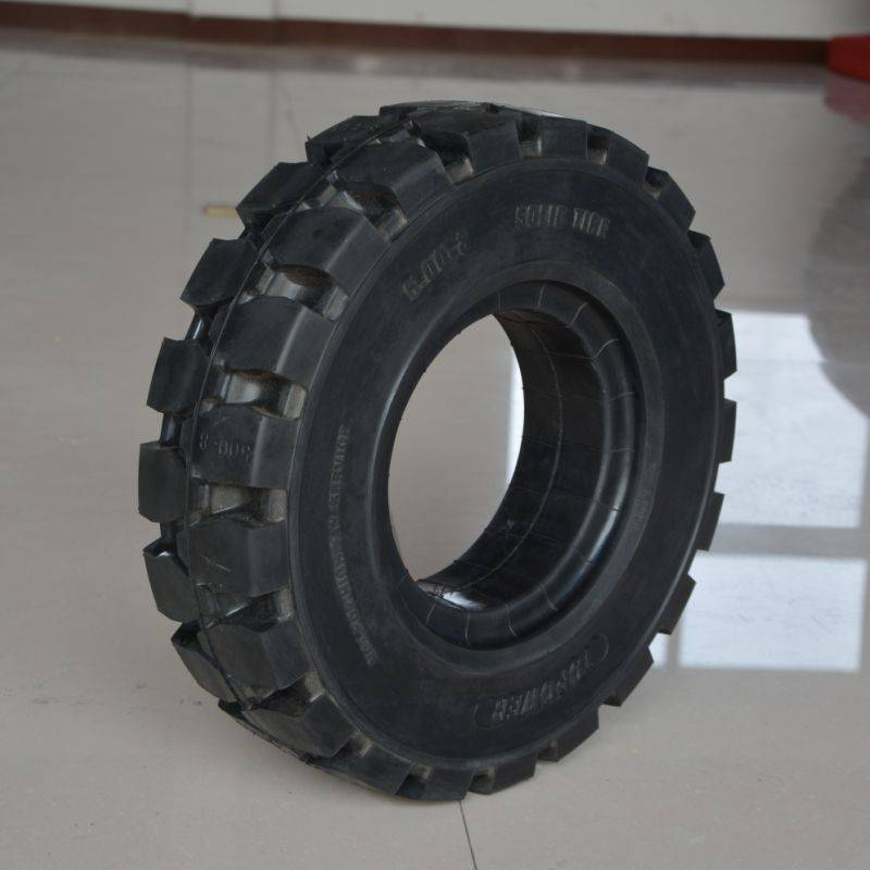 forklift truck solid industrial tyre 5.00-8/3.00