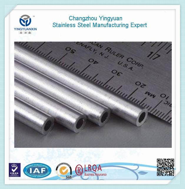 Stainless steel pipe used for oil processing and delivery