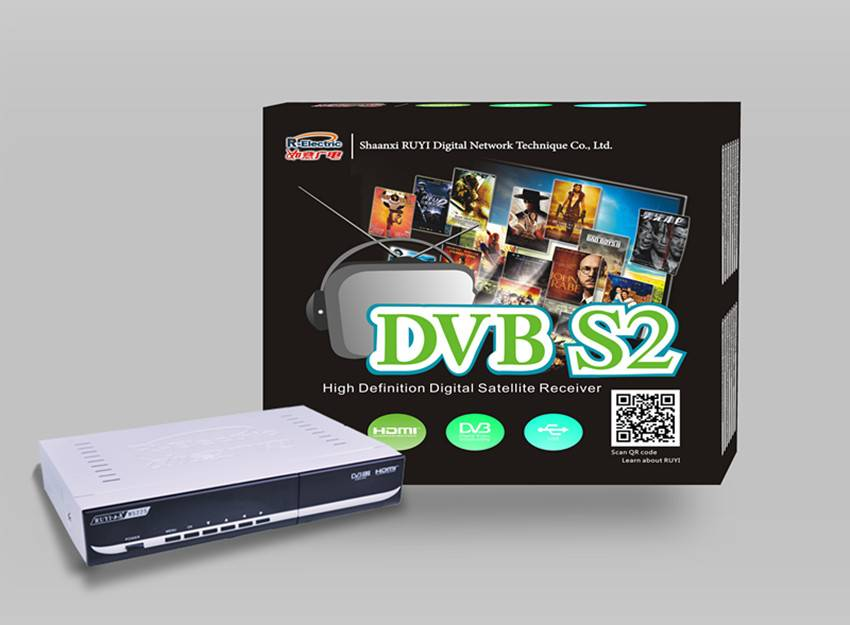 Latest DVB-S2 Digital Satellite TV Receiver