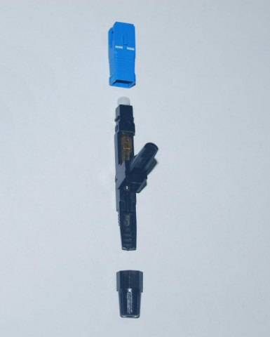 SC quick fibre optic connector