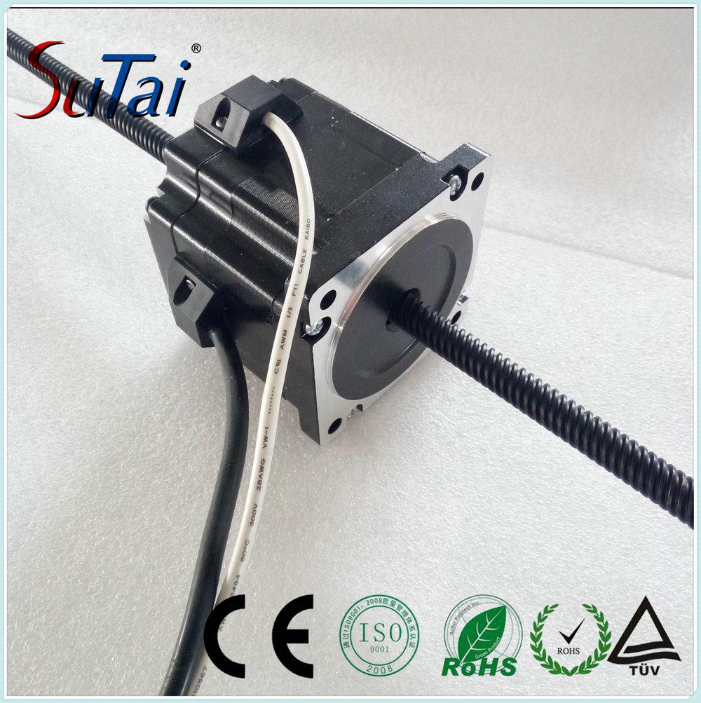 nema34 Linear Stepper Motor , Linear Actuator Motor with Lead Screw