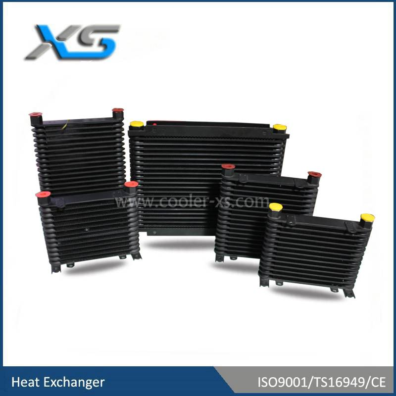 Stacked plate / Mocal style oil coolers