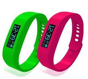 smart bracelet with accelerometer/silicone Smart Wristband/Bluetooth 2.1 Pedometer