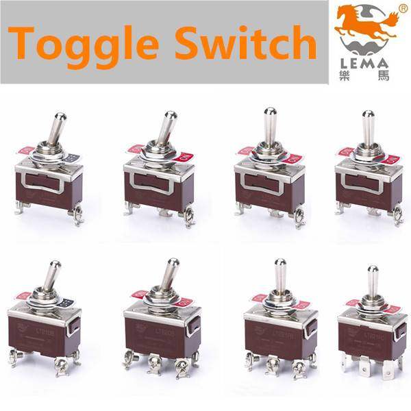 Lema Automotive electrical terminal toggle switch