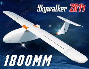 Latest version skywalker 2014 1800mm FPV RC Plane