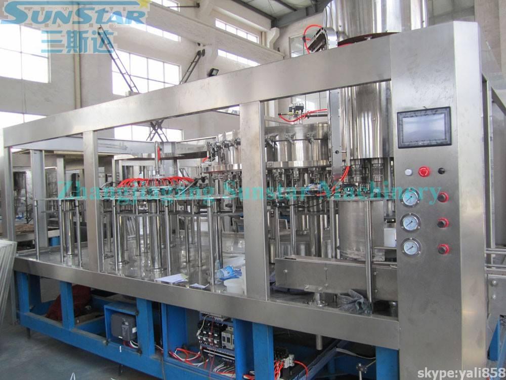 Monoblock Washing Filling Capping Machine (DCGF32-32-8)