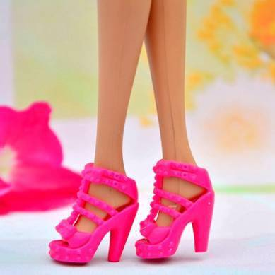 Small size doll shoes oem bjd doll shoes