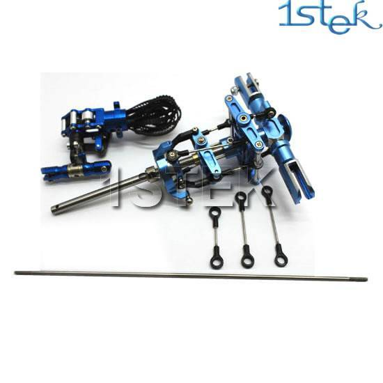 Metal Main Head Rotor and Tail Rotor Assembly Upgrade for Trex450V2 RC Helicopter helicopter parts