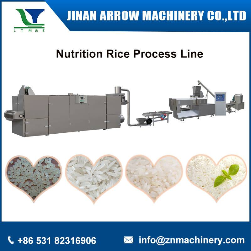 Nutrition rice process line