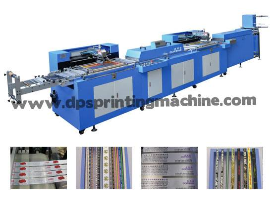 Content labels automatic screen printing machine with CE