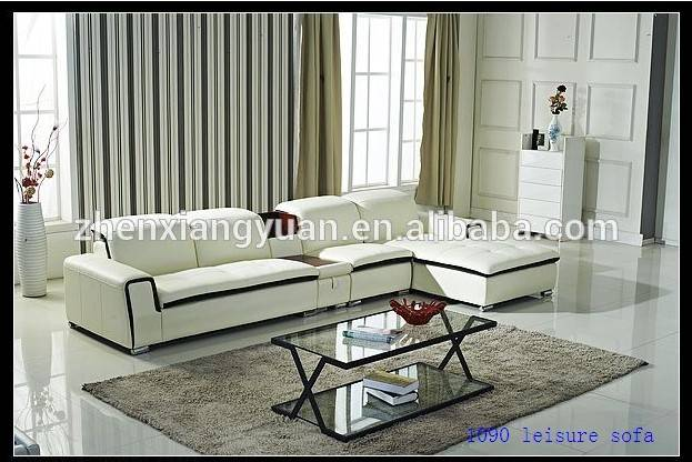 functional white leisure living room sofa sets