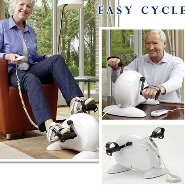Practical Electric Exercise Bike for Both Hands and Legs