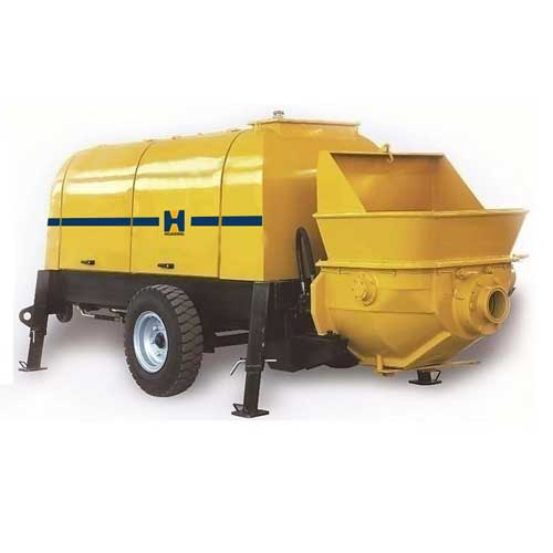 High Quality Concrete Pump Trailer Mounted Concrete Pumps Cement Trailer PriceTrailer Pump with CE