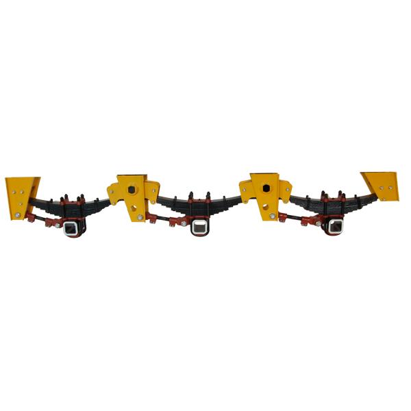 3-axle BPW type German suspension