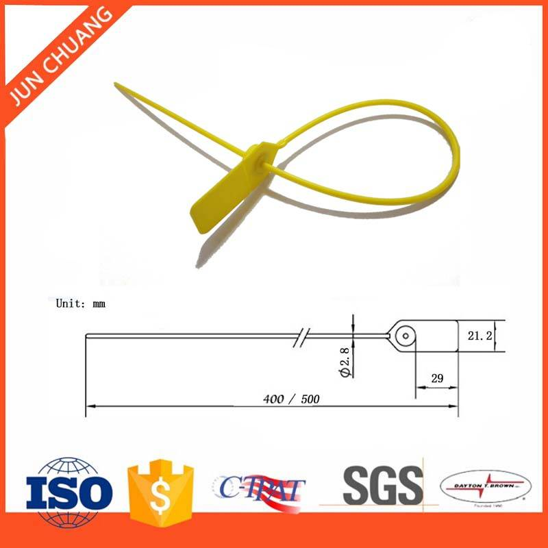 High quality tamper proof plastic seal