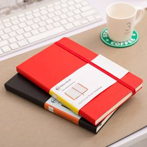 Moleskine Style Leatherette Notebook