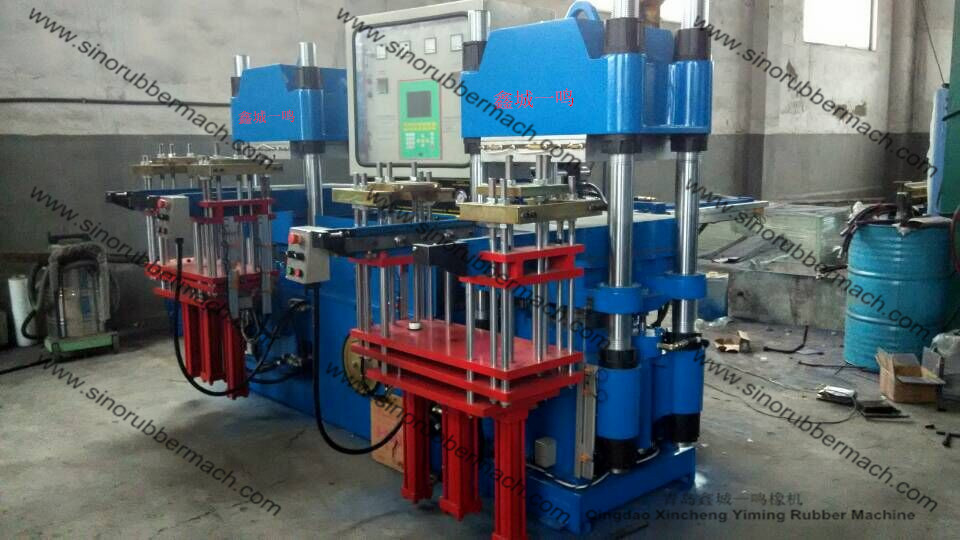 Silicon Rubber Compression Molding Machine