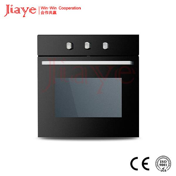 Built-in 56L 60cm gas conveyor oven tempered glass