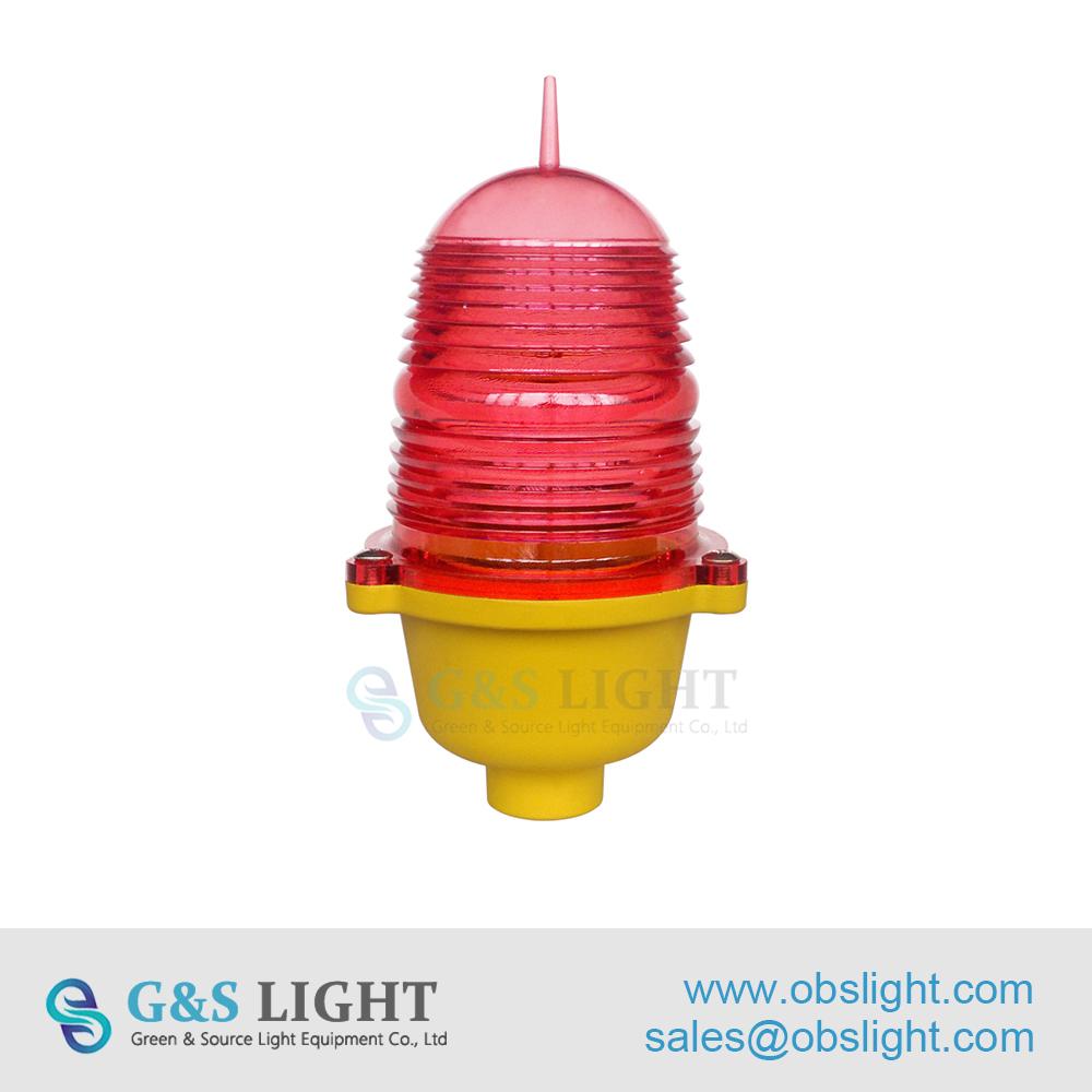 Low-intensity Single Aviation Obstruction Light