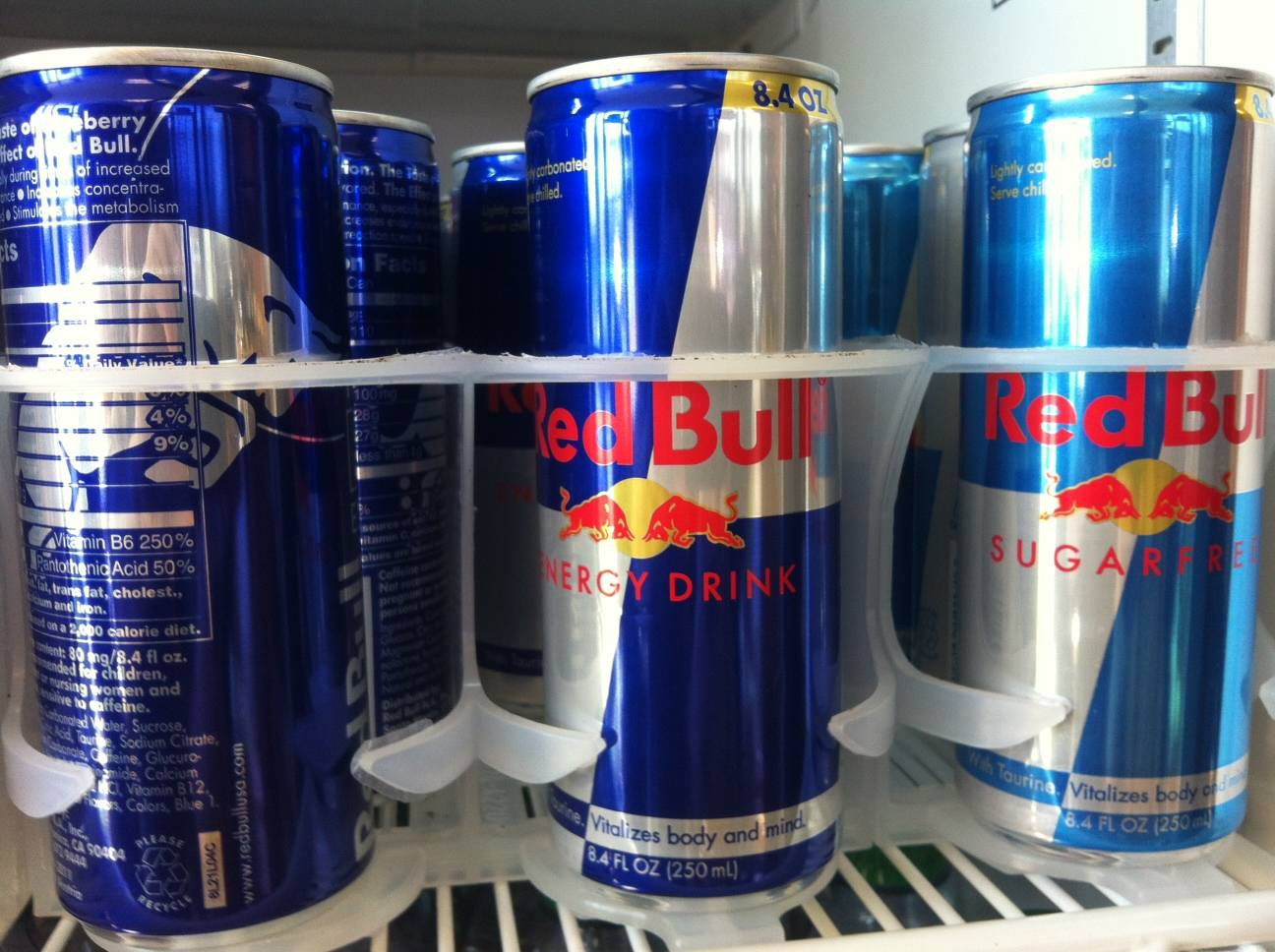 energy drink and red bull
