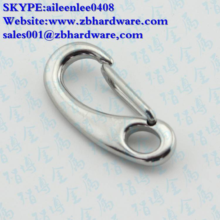 Stainless Steel Cast Egg Shaped Snap Hook