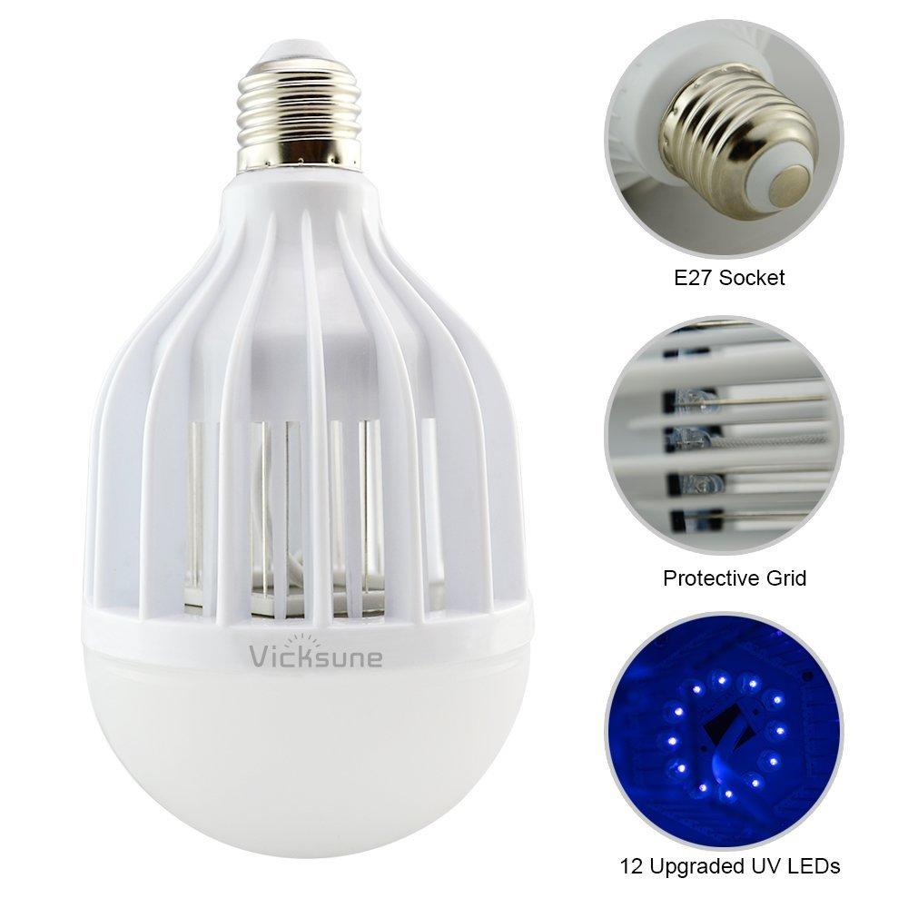 Multi Functional High LED Zapper Mosquito Killer Bulb