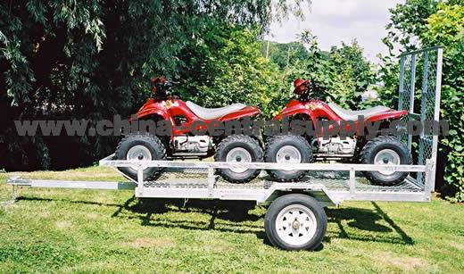ATV trailer with 13'' Radial tyre and rim