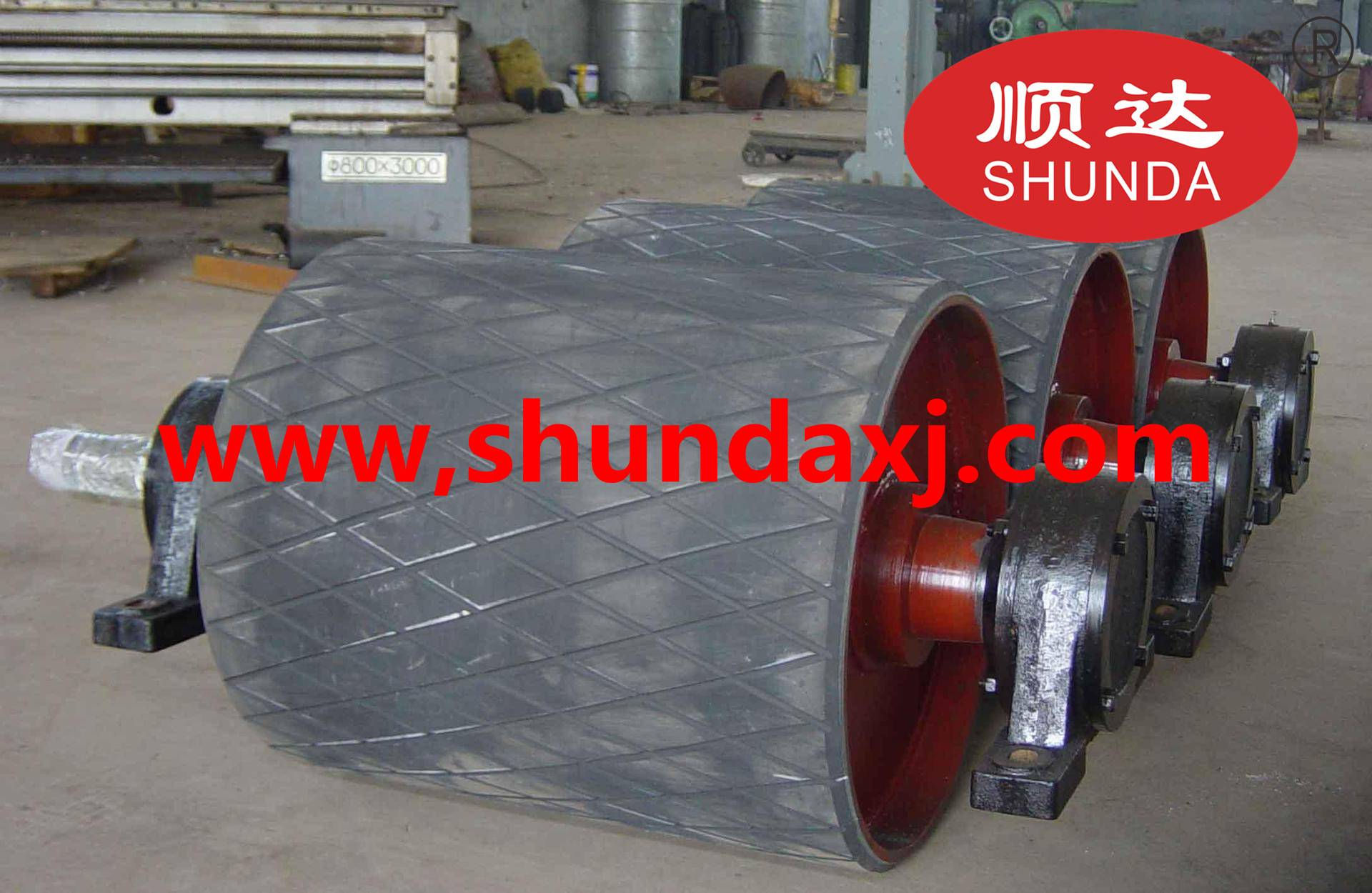 Rubber Pulley