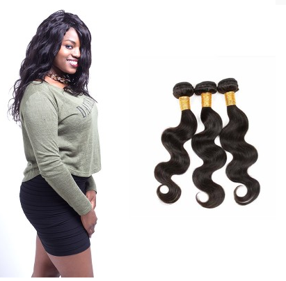 [8A]3 Bundles Peruvian Body Wave Hair Weave