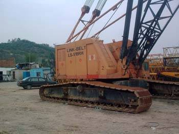 Offer used 150ton Link-Belt Crawler crane
